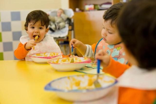 Comedor en la Escuela Infantil